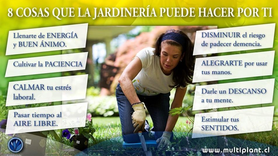 8 Cosas que la jardinería puede hacer por ti